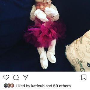 One Pieces - Lace newborn onesie